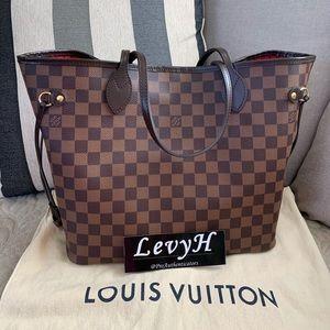 Authentic Louis Vuitton Neverfull MM D. Ebene 2019